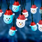 Musical Dancing Snowman Lights