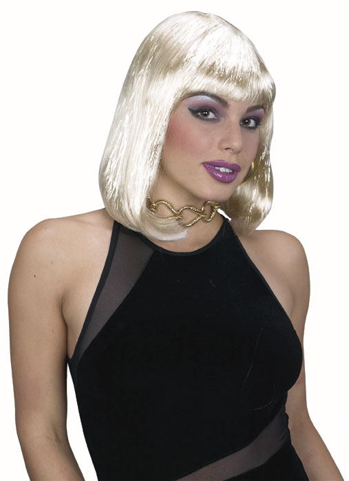 Blonde Tinsel Wig