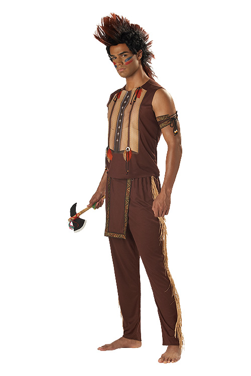 Adult Indian Warrior Costume