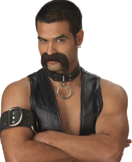 Leather Daddy Costume Moustache