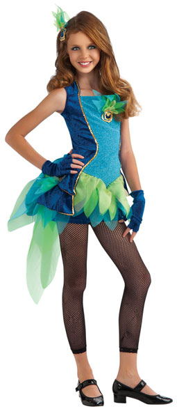 Tween Peacock Costume