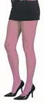 Adult Pink Fishnet Tights