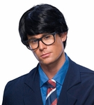 Men's Black Messy Hair Wig