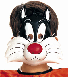 Looney Tunes Sylvester Cat PVC Mask
