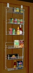 Over The Door Storage Rack