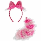 Adult Cheshire Cat Ears and Tail Set