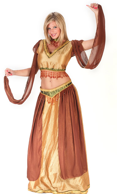 Sexy Belly Dancer Girl Costume