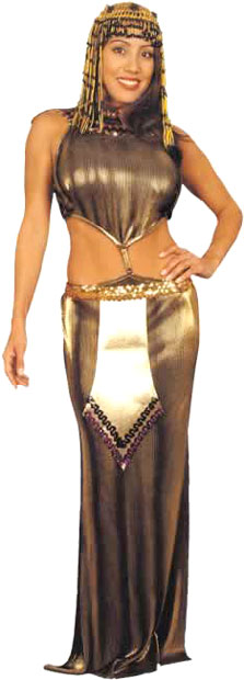 Adult Pleated Cleopatra Costume