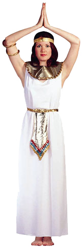 Adult White Cleopatra Costume