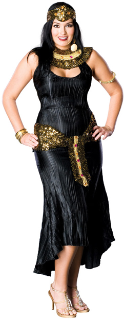 Plus Size Black Cleopatra Costume