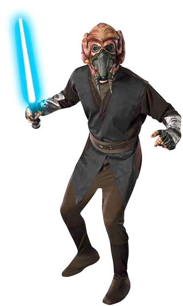 Clone Wars Adult Plo Koon Star Wars Costume