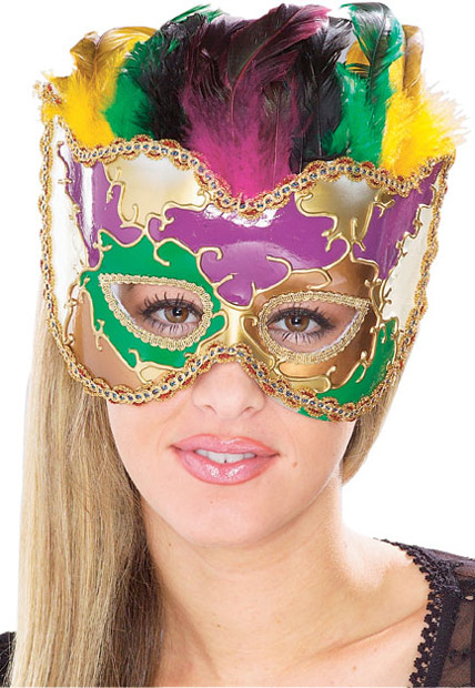 Mardi Gras Party Venetian Eyemask