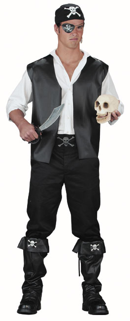 Adult Jolly Roger Pirate Costume