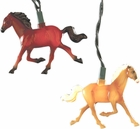 Running Horses String Lights Set