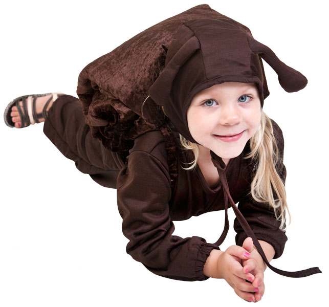 Toddler Brown Snail Costume