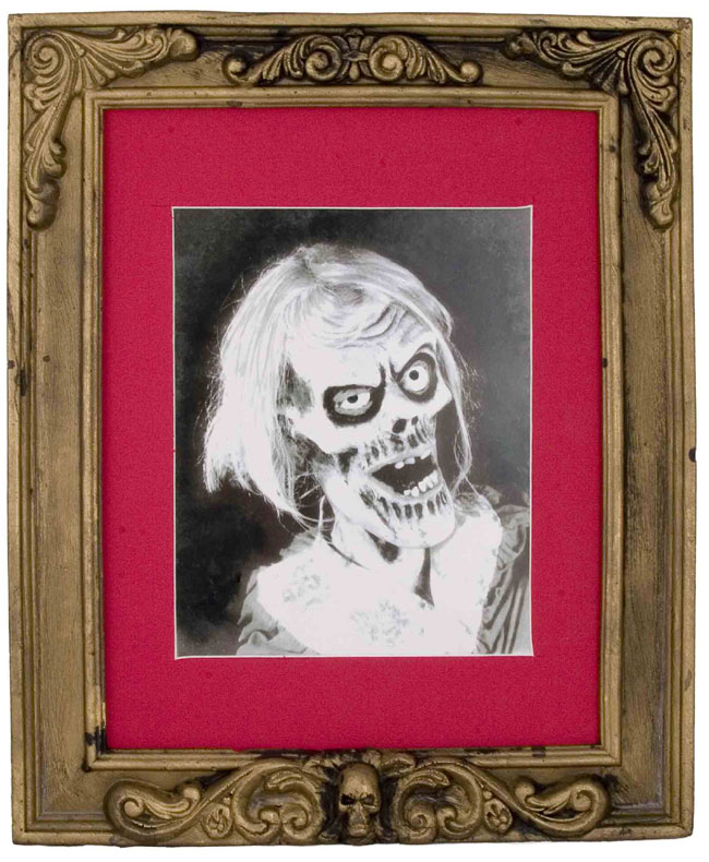 Skeleton Picture Frame Halloween Prop