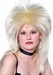 Women's Blonde 80's Rocker Wig