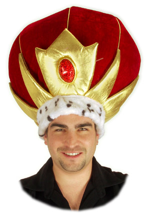 Adult Giant King Crown Hat