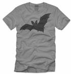 Men's Flying Bat Halloween Shirt