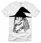 Men's Smiling Witch Halloween Shirt