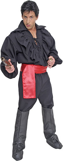 High Seas Bandit Pirate Costume