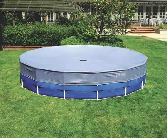 18 Ft  Cover for Intex Type Frame Pools