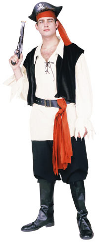 Adult Classic Buccaneer Pirate Costume