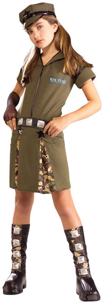 Preteen Army Girl Costume