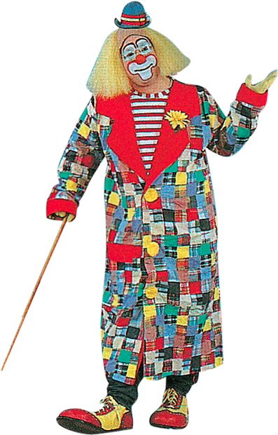 Adult Patches The Clown Costume