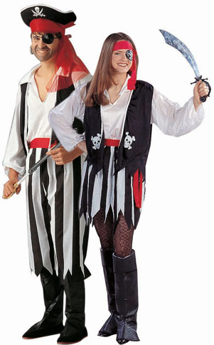 Adult Pirate Man Costume