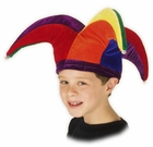 Child's Colorful Jester Hat
