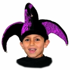 Child's Purple Jester Hat