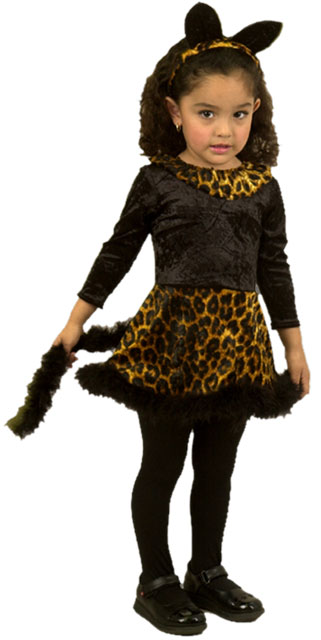 Baby Leopard Cat Dress Costume
