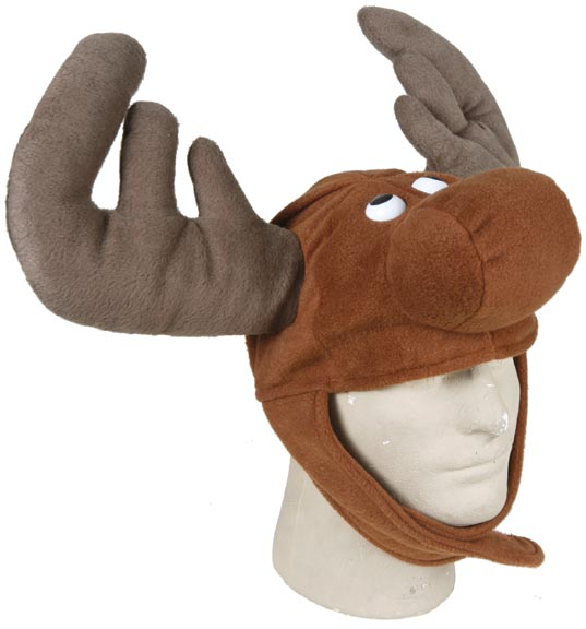 Adult Moose Costume Hat