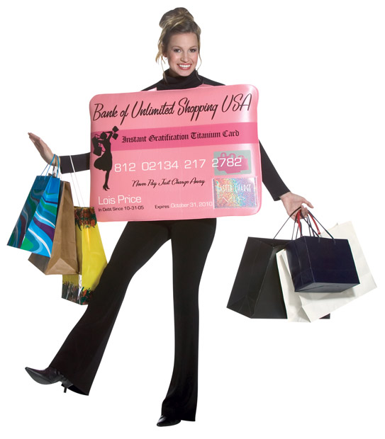Adult Credit Card Costume
