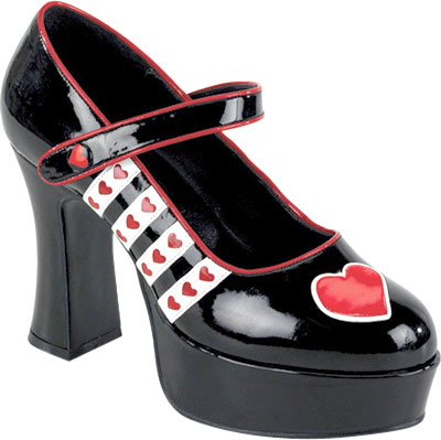 Sexy Queen of Hearts Heels