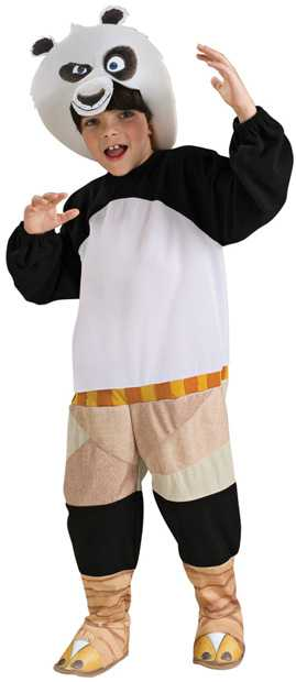 Child's Kung Fu Panda Costume