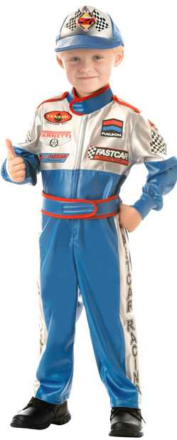 Toddler Speedway Race Car Driver Costume