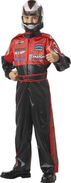 Child's Race Car Driver Boy Costume