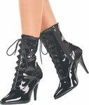 4 Inch Lace-Up Ankle Boot