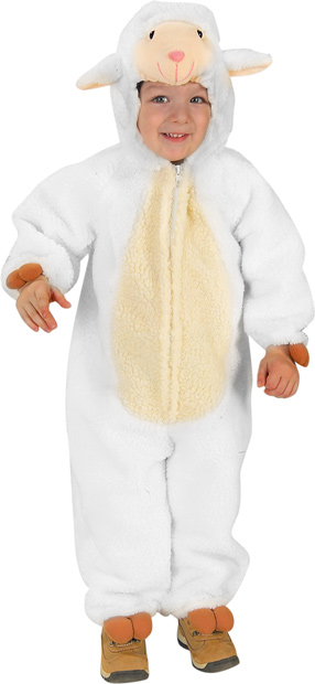 Toddler Loveable Lamb Costume
