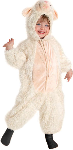 Toddler Precious Lamb Costume