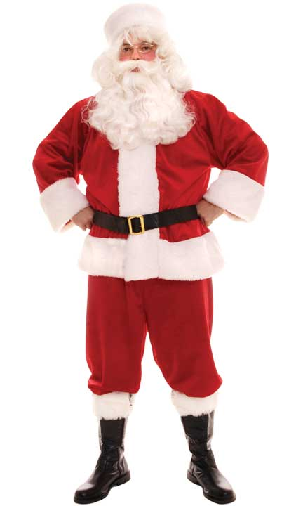 Traditional Santa Claus Costume