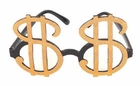 Dollar Sign Pimp Glasses