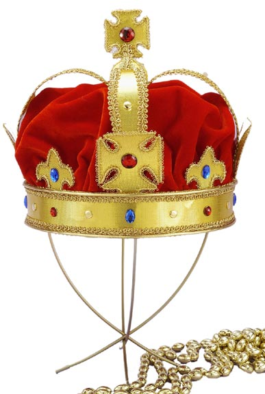 Regal King Crown Hat