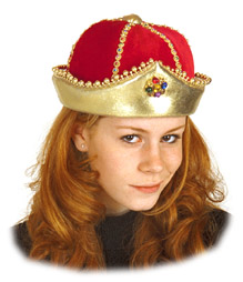 Adult Queen Hat