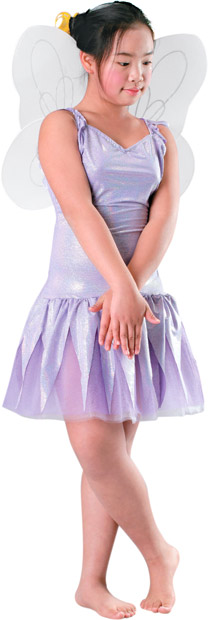 Child's White Fairy Costume Wings