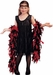 Child's Black Roaring 20s Flapper Costume