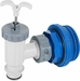 Intex Pool Plunger Valve w/ Clamp Hose Connection and Strainer