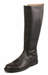 Men's Black Tall Pirate Boots